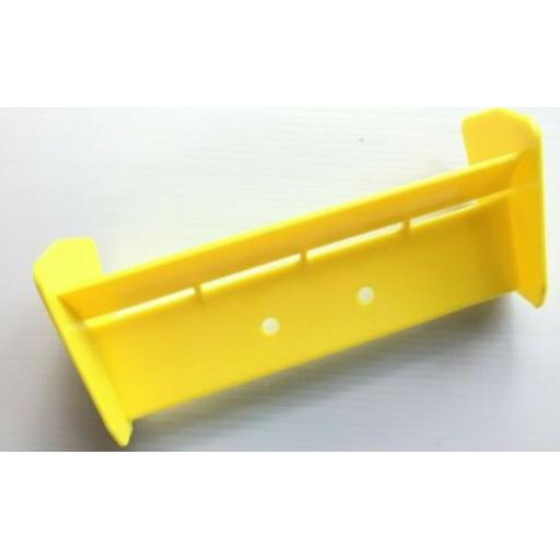 Rear Wing for 1/10 Buggy or Truggy - Yellow