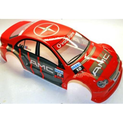 Mercedes AMG Red Universal 1/10 Car Body Shell