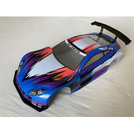 Race Car Body Shell 1/10 Universal fit - Blue