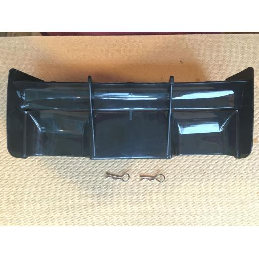 Rear Wing for 1/8 Buggy or Truggy - Black