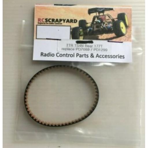 TS4N 177T Rear Belt, PD7669 PD1299 PD0853