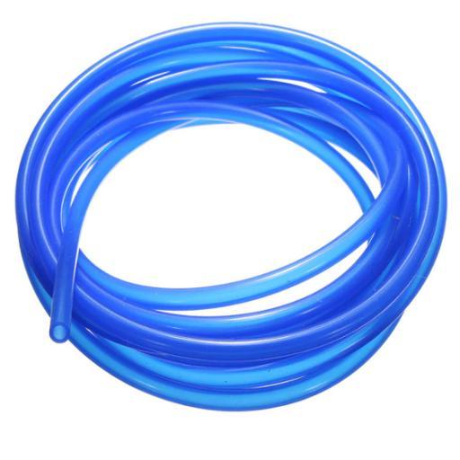 Silicone Fuel Pipe Blue 1 Metre - High Temperature