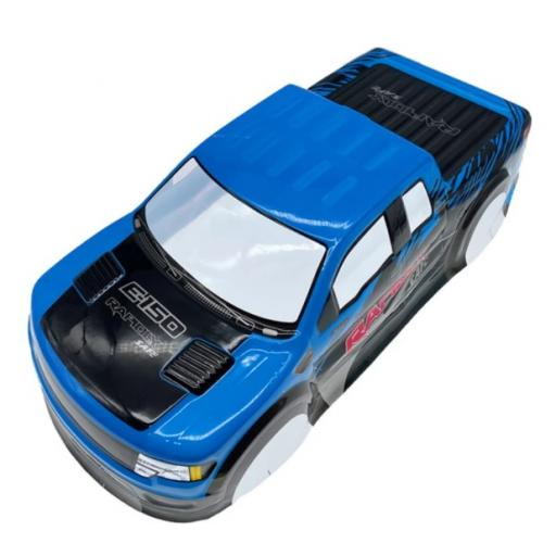 Ford F150 Universal Blue 1/10 1/8 Truck Body Shell