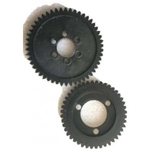 Thunder Tiger SSK Spur Gear set 44 And 50 Teeth PD6437 - ABS 3D printed parts