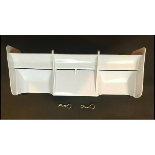 Rear Wing for 1/8 Buggy or Truggy - White