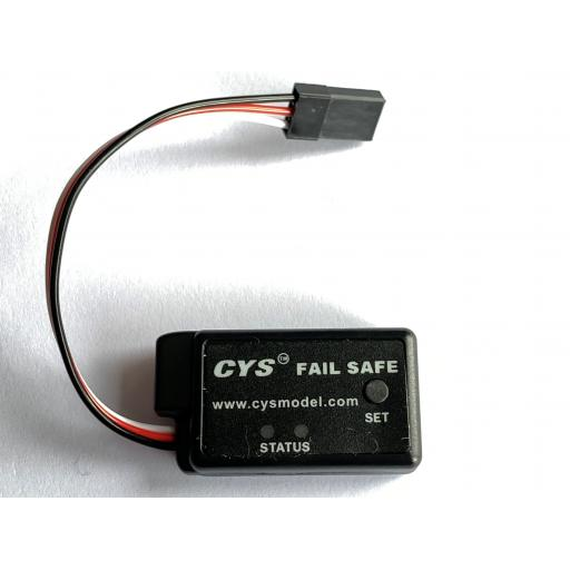 Failsafe protection device for use with all Nitro RC cars / Trucks / Truggys.