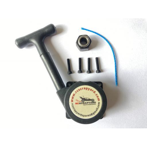 Nitro * Guaranteed Unbreakable* Kevlar Pull start + bearing and screws. Universal fit 1/10 & 1/8