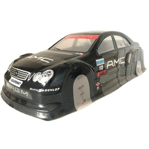 Mercedes AMG Black Universal 1/10 Car Body Shell