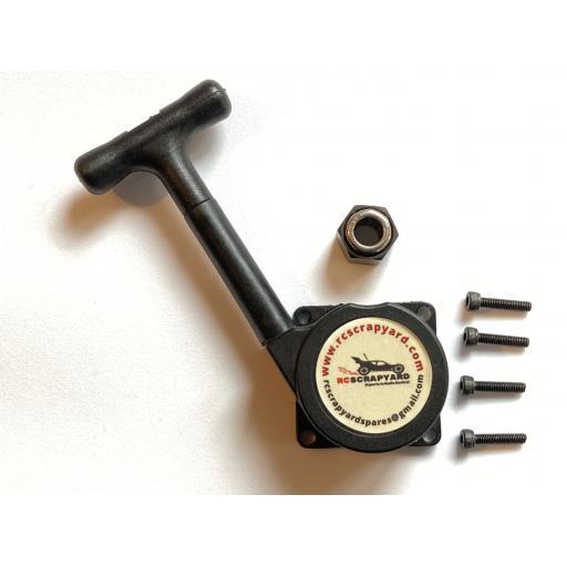 Nitro Pull start + bearing and screws.Fits T/Tiger XTM, Tamiya, Trx, Mach, VX