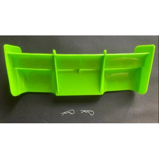 Rear Wing for 1/8 Buggy or Truggy - Green