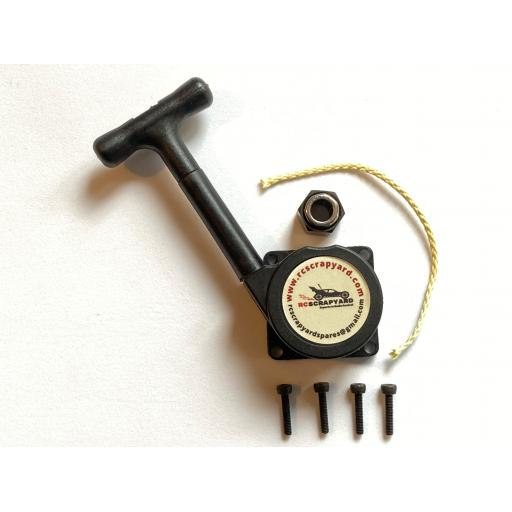 Nitro Almost Unbreakable Kevlar Pull start + bearing and screws. Universal fit 1/10 & 1/8
