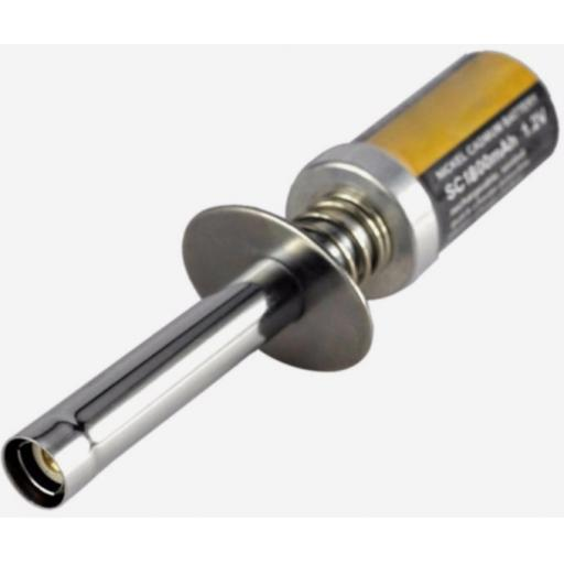 RC Nitro Glow Plug Starter igniter 1800mah rechargeable