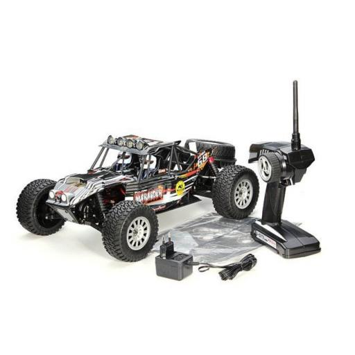 Marauder Fully Waterproof 1/10 Electric On/Off road RC Car - Ready to run. Includes Lipo Battery.