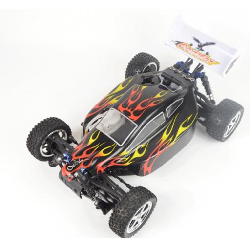 Acme Condor 1/10 Nitro Buggy - Build it yourself Complete kit + Tools