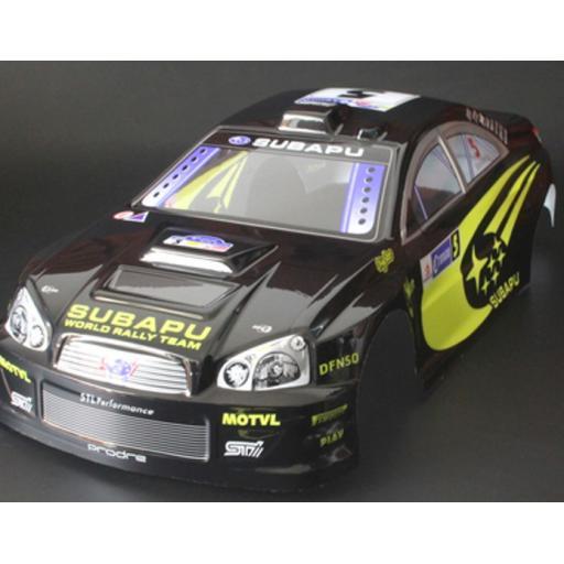 Subaru WRC WRX RC car body shell Black 1/10 Cars