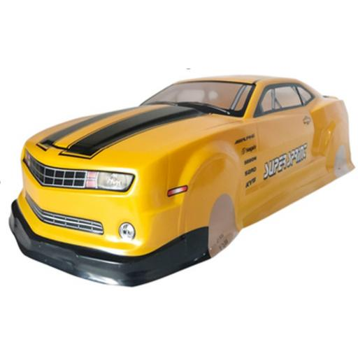 RC Ford Mustang Body Shell Fits 1/10 Cars + Spoiler etc