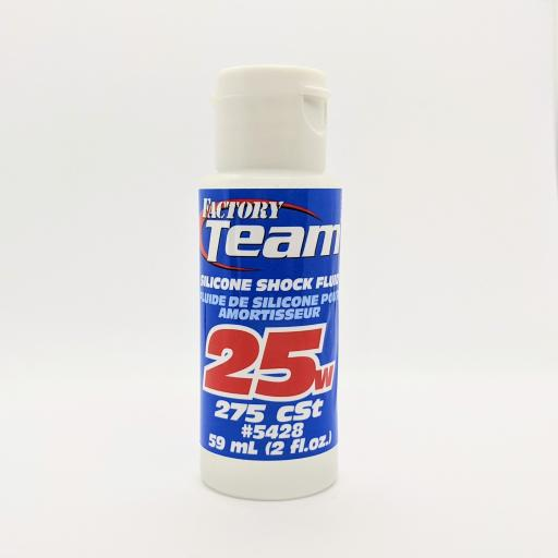 RC Pure Silicone Shock Oil Team Associated 25W (275 cSt)