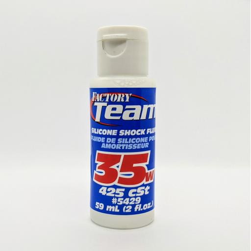 RC Pure Silicone Shock Oil Team Associated 35W (425 cSt)