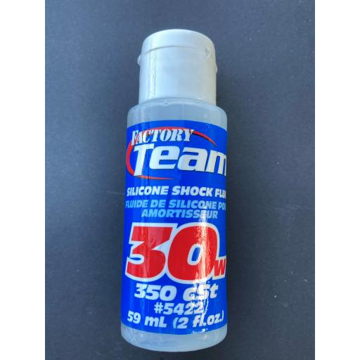 RC Pure Silicone Shock Oil Team Associated 30W (350 cSt)