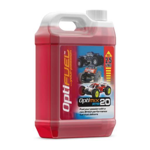 20% Optifuel RTR Nitro Fuel - 2.5 litres