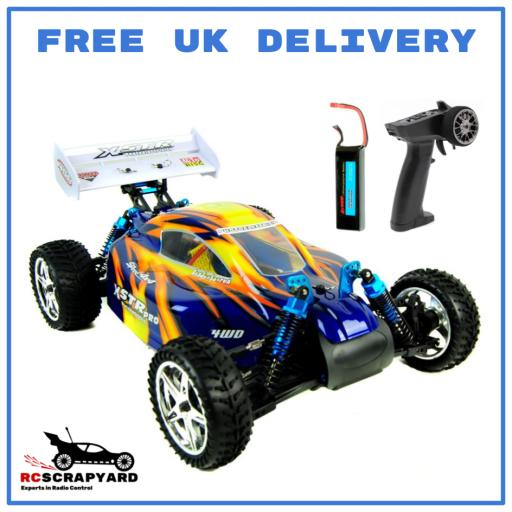 HSP Pro Fully Brushless Buggy - Backwash- 1/10 complete and ready to run