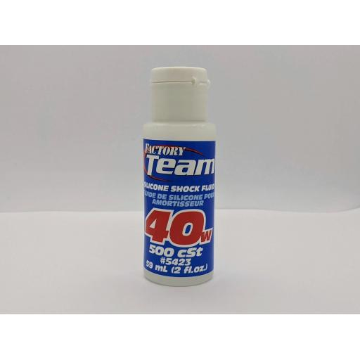 RC Pure Silicone Shock Oil Team Associated 40W (500 cSt)
