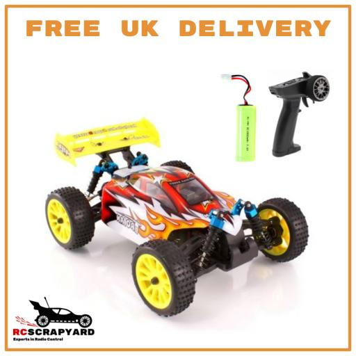 4WD 1/16 scale Super Fast Trojan buggy, witn battery and controller - Ready to Run - Not a Toy