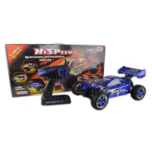 HSP Pro R-Spec Fully Brushless Buggy - Backwash- 1/10 complete and ready to run