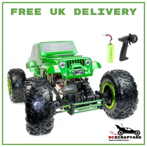 Huge 1/8 Scale Monster Rock Crawler / Climber - Ready to run. Includes Battery and Radio set
