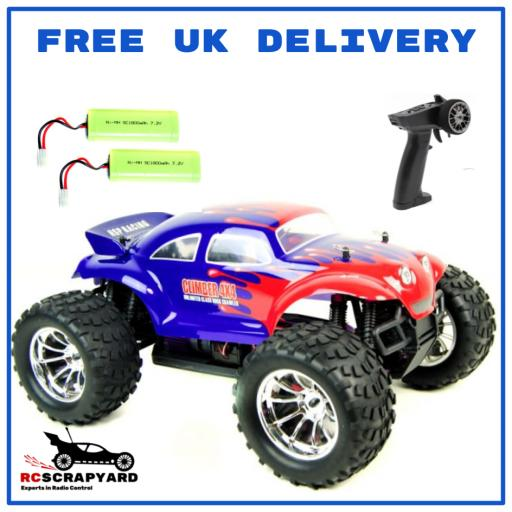 HSP Bug Crusher 1/10 Battery Operated Truck VW Beetle - Hobby Grade - Not a toy. + Comes with 2 x Batteries