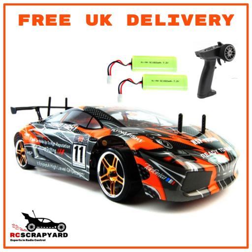 HSP Lamborghini Drift Car 1/10 -Very Fast Electric RTR Hobby Grade- Not a toy