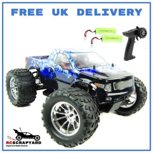 HSP Blue Ice Bug Crusher 1/10 -Very Fast- RTR Electric - Hobby Grade- Not a toy.