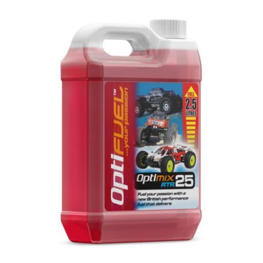25% Optifuel RTR Nitro Fuel -2.5 litres